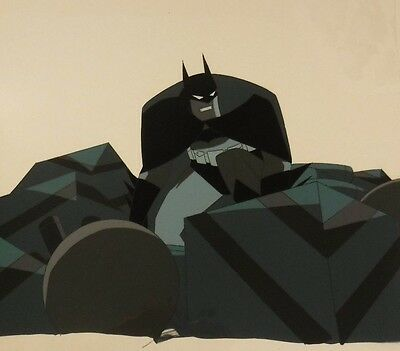 BRUCE TIMM rare BATMAN Holiday Knights cel SIGNING OFFER Kevin Conroy!!  WB
