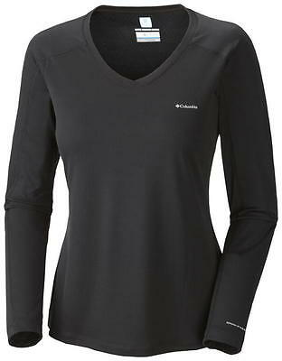 Columbia Women's Zero Rules Long Sleeve Shirt, Black, L