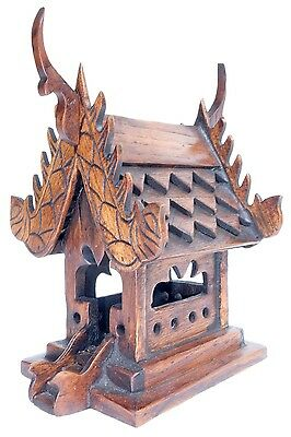 "Thai Carving Buddhism Spirit House Temple. (W4.8""xL5""xH7"", House)"