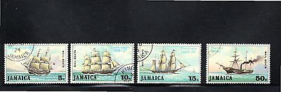 Jamaica 1974 Mail Packet Boats SG 380/3 CTO