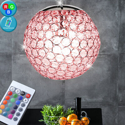 Haute Qualité RGB LED Lampe Pendule Dimmable Salon à Suspension D X H 23x150 CM