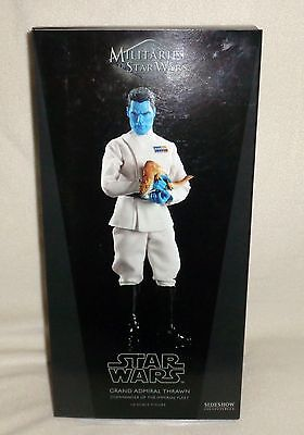 "Sideshow GRAND ADMIRAL THRAWN 1/6 Sixth Scale 12"" ~ BRAND NEW - Never Opened"