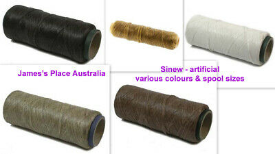 Sinew - Artificial - various strengths & colours