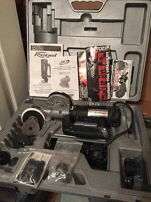 RotoZip Rebel Spiral Saw, RotoZip Zip Mate Kit & Case w/ Extras TESTED Free Ship