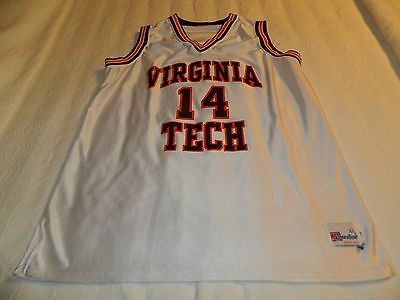 Women's Virginia Tech Hokies basketball jersey from 1997 Big East size XL