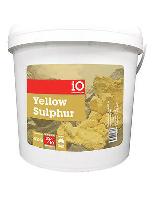 Independents Own Yellow Sulphur Horse Equine Supplement 1Kg - 5Kg