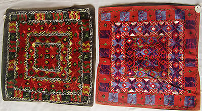 Beautiful Handmade Old Vintage Patch Work Cushions/pillow Cover India Fine Art 6
