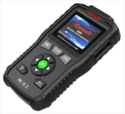 iCarsoft i820 OBDII OBD2 EOBD & Can Car Engine Diagnostic Scan Tool Code Reader