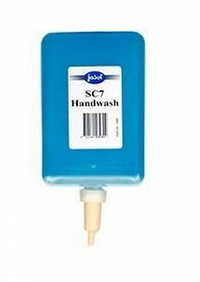6 x 1 litre - Jasol Sc7 Handwash 2150350 in Blue - Liquid Hand Soap