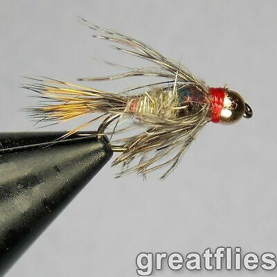 1 dozen (12) - Guide's Choice Hare's Ear - Bead Head