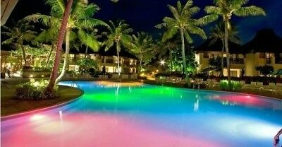 Pentair Color LED Underwater Pool Light 12V 30 Foot Cord 16 Colors