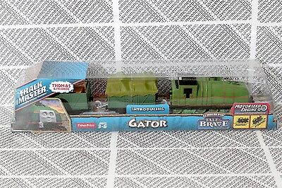 Thomas The Train TrackMaster Motorized - Gator Engine - Tale of The Brave