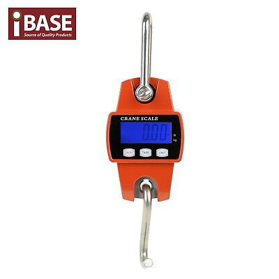 300Kg Electronic Crane Scale Mini Portable Digital Industrial Hook Hanging New