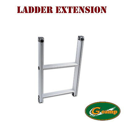G Camp Ladder Extension Roof Top Tent Trailer 4Wd 4X4 Camping Car Rack Free