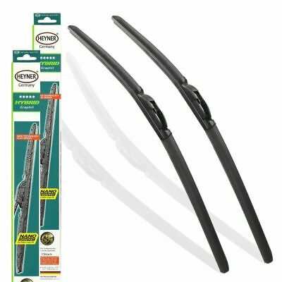 "VW TRANSPORTER T5 2013-on aeroflat windscreen WIPER BLADES 24''24"" SLIM TOP FIT"