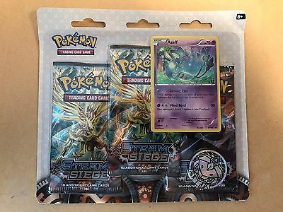 POKEMON SEALED STEAM SIEGE BLISTER PACK- 3 x BOOSTER PACKS BRAND NEW