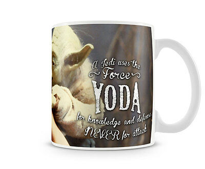 Officially Licensed Merchandise Star Wars- Yoda & Skywalker Quote Coffee Mug