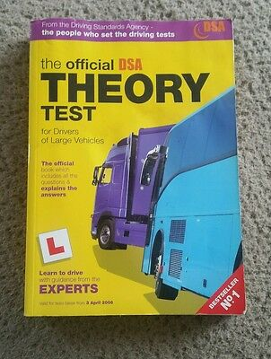 The Official DSA Theory Test for Drivers of Large Vehicles: