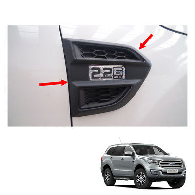 Stainless Upper Air vent outlet Cover Trim  For FORD EVEREST SUV 4DOOR 2015-2017