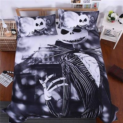 NEW Bedding set  Nightmare Before Christmas Duvet Cover Twin Queen King  Sheet