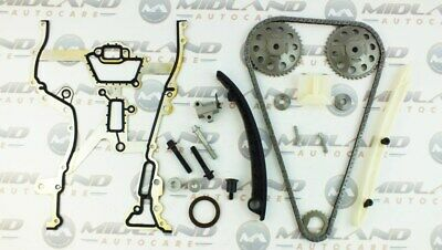 VAUXHALL CORSA D 1.0 1.2 1.4 16 VALVE ENGINE TIMING CHAIN KIT COMPLETE Inc GEARS
