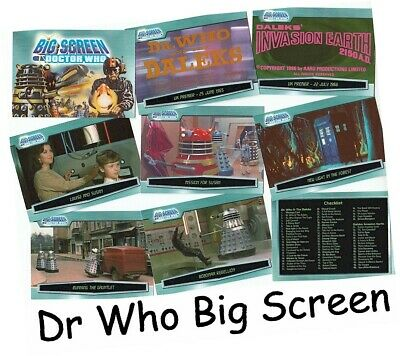 Doctor Who Big Screen - 100 Card Basic/Base Set - Dr Who - 2003 Strictly Ink