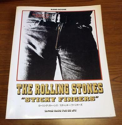Rolling Stones - Sticky Fingers  - JAPAN BAND SCORE GUITAR TAB -
