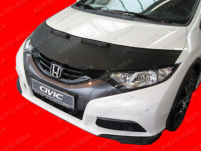 CUSTOM CAR HOOD BRA for Honda Civic Europe 2012-2016 NOSE FRONT END MASK