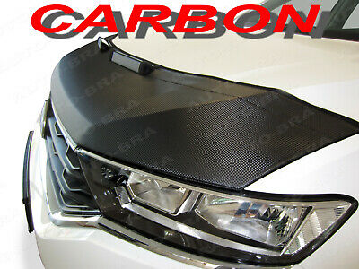CARBON FIBER LOOK Honda Civic 2006-2012 CUSTOM CAR HOOD BRA NOSE FRONT END MASK