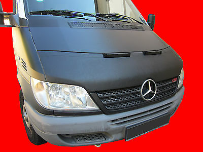 CARBON LOOK CAR HOOD BRA fit  Mercedes Benz Sprinter W906 2006-2013  END MASK