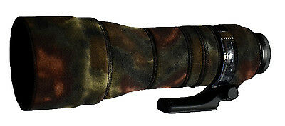 Tamron 150 600mm G2 Neoprene Lens Protection Camouflage Cover :Premium Moss camo