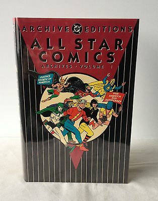 All Star Comics Archives - Volume 1 - DC Archive Editions 1st DJ 1991