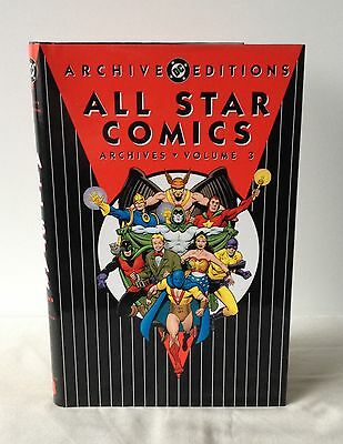 All Star Comics Archives - Volume 3 - DC Archive Editions DJ 1997