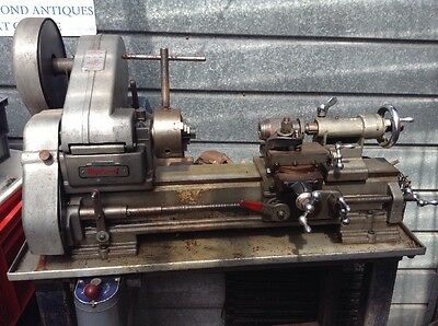 Myford Lathe ML 10 On Stand With Accessories Single Phase Pickup Only Glasgow