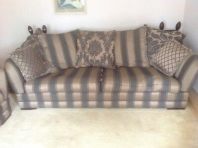 Stunning Suite 4 +2+cuddle Chairs And Footstool, Buyer Collect