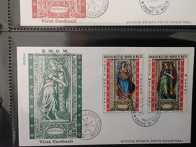 1974 Sovereign Military Order of Malta FDC STAMPS  VF Lot 5315