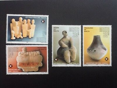 Malta 1996 Prehistolric Art  Mint  NH Scott No 882 - 885  VF