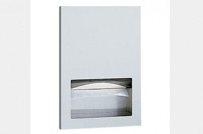 Bobrick Recessed Paper Towel Dispenser for Bathroom in Satin Stainless Steel
