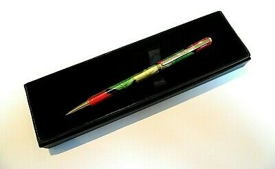"CHUNKY PEN-""Calypso Green"" 12cms Refillable Metal Ballpoint in a GIFT BOX-NEW"