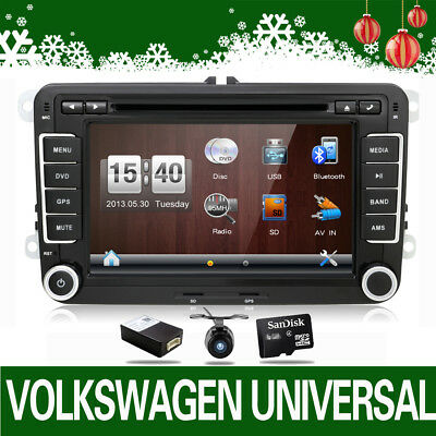 "7"" DVD GPS Autoradio für VW GOLF PASSAT TIGUAN TOURAN Sharan POLO Caddy SEAT"