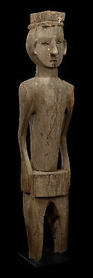 old roof support figure of a Jorai funerary house - Vietnam museum quality!