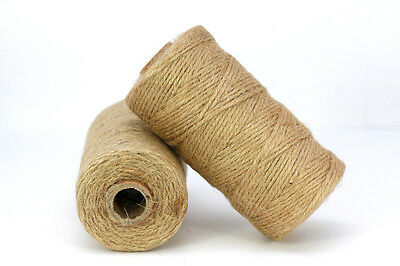 (0.09€/m) Baker's Twine NATURE JUTE 90m Roll Bakers Cord Craft cord
