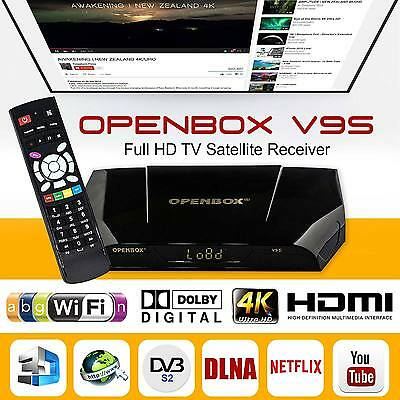 2017 Openbox V9S Digital Full HD TV Satellite Receiver Box Genuine WIFI IPTV