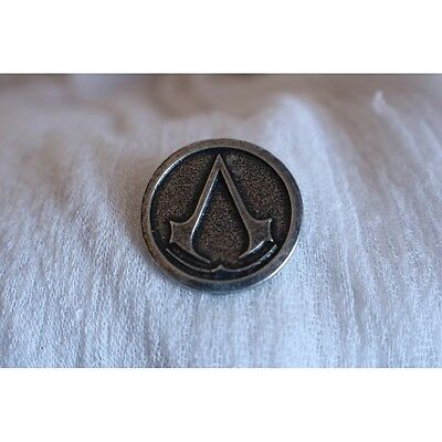 Emblema en pin, Assasin's Creed, envejecido.