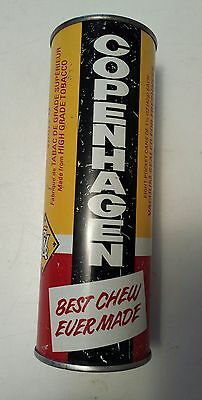 """Scarce Canadian """"copenhagen Chewing Tobacco/snuff"""" Tin To Contain 8  Pocket Cans"""