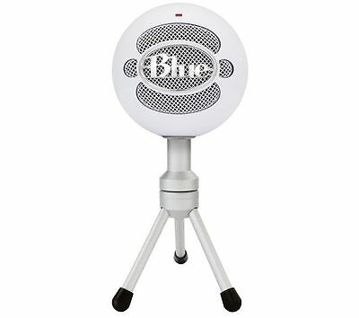 BLUE Snowball Ice 	PC, Mac & iPad Compatible White