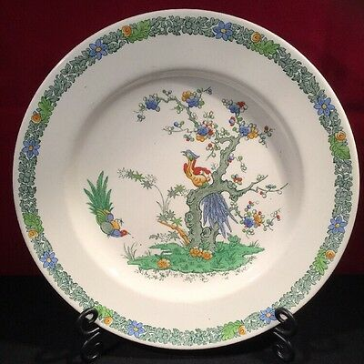 """Copeland Spode Bermuda 10.5"""" Plate - Gorgeous Colours and Pattern"""