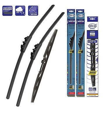 "Kia Venga 2010-2016 windscreen wiper blades 26''14""12"" front and rear"