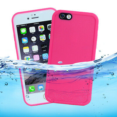 "For Apple iPhone 7 Plus 5.5"" Waterproof Shockproof Hybrid Rubber Case Cover Skin"