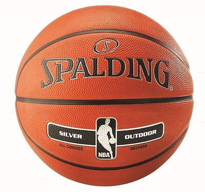 Spalding NBA Outdoor Basketball FREE POST AND PACKAGING - Size 5 & 7
